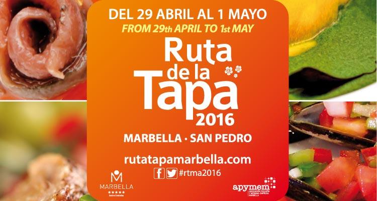 Ruta de la Tapa Marbella 2016