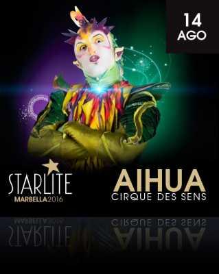 Aihua Cirque des Sens en Starlite Marbella 2016