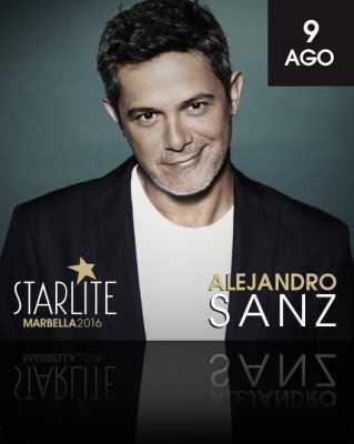 Alejandro Sanz en Starlite Marbella 2016