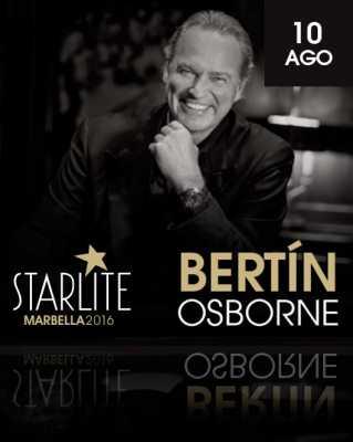 Bertín Osborne en Starlite Marbella 2016