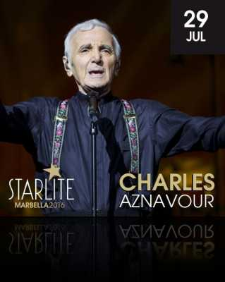Charles Aznavour en Starlite Marbella 2016