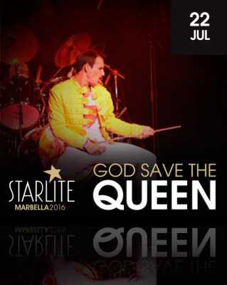 God Save the Queen en Starlite Marbella 2016