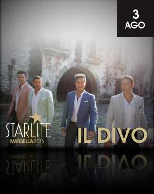 Il Divo en Starlite Marbella 2016