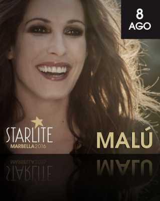 Malú en Starlite Marbella 2016
