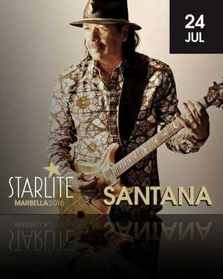 Santana en Starlite Marbella 2016
