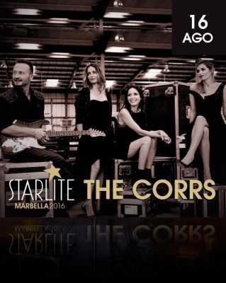 The Corrs en Starlite Marbella 2016