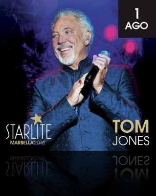 Tom Jones en Starlite Marbella 2016