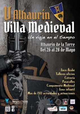 Cartel de la Villa Medieval de Alhaurín de la Torre 2017