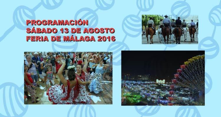 Programación Feria de Málaga 2016