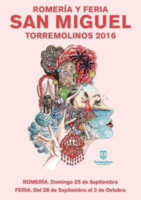 Cartel de Feria de San Miguel Torremolinos 2016