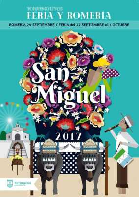 Cartel de la Feria de Torremolinos y Romería de San Miguel 2017