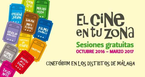 Cine en tu Zona 2016-2017 Distritos de Málaga