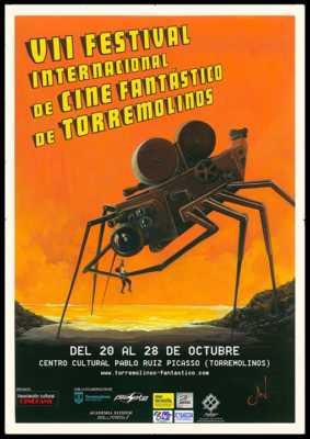 Cartel del Festival de Cine Fantástico de Torremolinos 2018