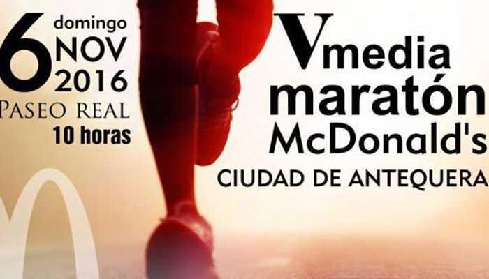 Media Maratón Ciudad de Antequera 2016