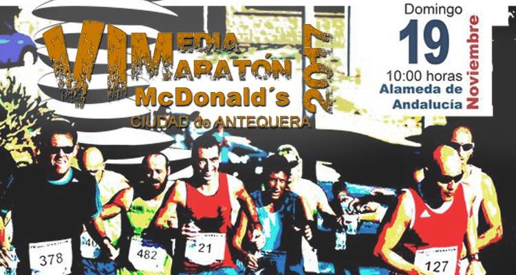 Media Maratón Antequera 2017