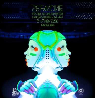 Cartel del Festival de Cine Fantástico Universidad de Málaga 2016
