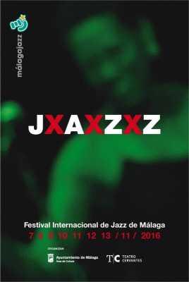Cartel del Festival Internacional de Jazz de Málaga 2016