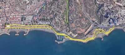 Recorrido 5km Carrera Popular de El Palo 2018