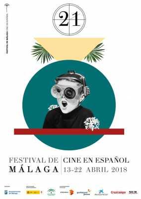Cartel del Festival Málaga de Cine en Español 2018