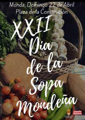 Cartel del Día de la Sopa Mondeña 2018