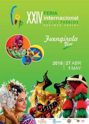 Cartel de la Feria de los Pueblos Fuengirola 2018
