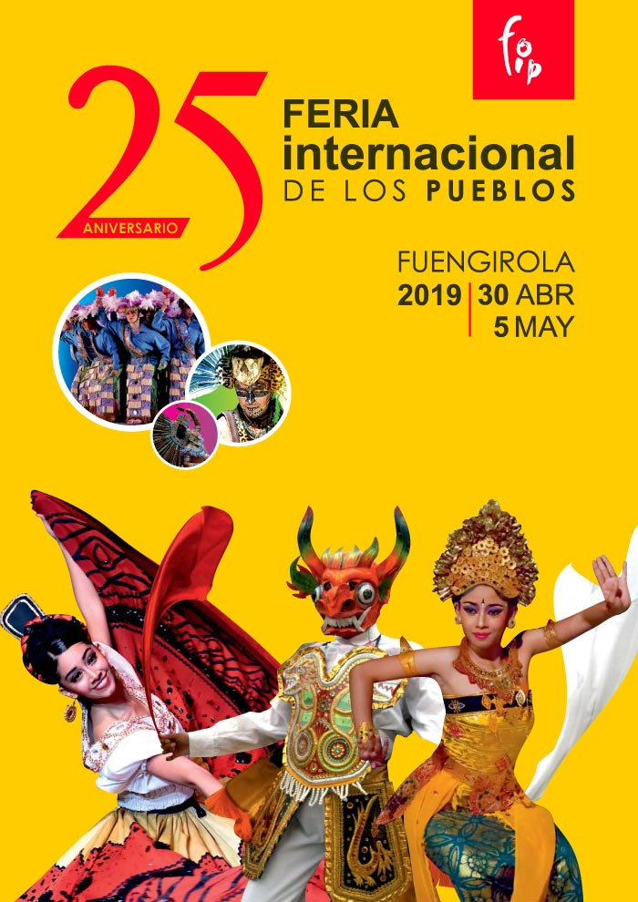 Cartel de la Feria de los Pueblos de Fuengirola 2019