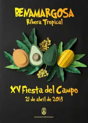 Cartel de la Fiesta del Campo de Benamargosa 2018