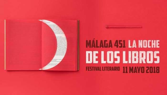 Málaga 451. La Noche de los Libros 2018