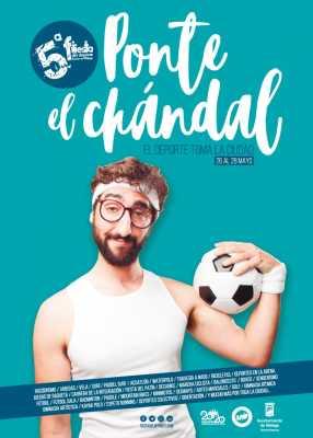 Cartel de la Fiesta del Deporte de Málaga 2017