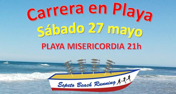 Espeto Beach Running 2017. Playa Misericordia