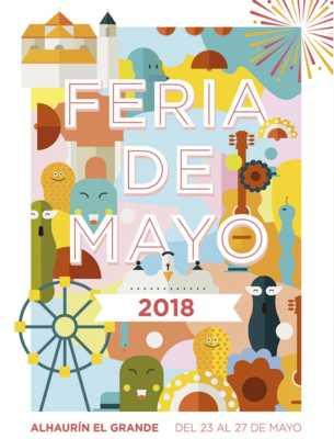 Cartel de la Feria de Mayo de Alhaurín el Grande 2018