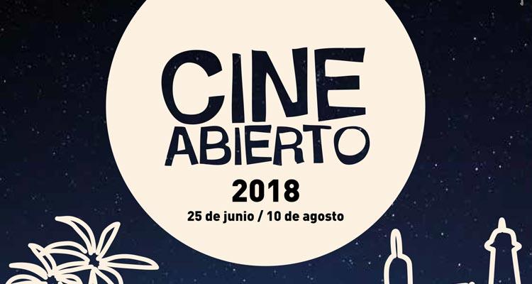 Cine Abierto Málaga 2018