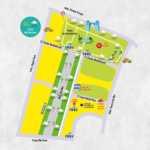 Plano de la Feria de Día de Marbella San Bernabé 2018