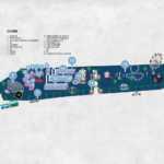 Plano de la Feria de Noche de Marbella San Bernabé 2018