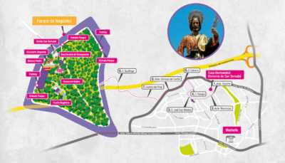 Itinerario de la Romería de San Bernabé de Marbella