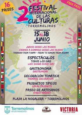 Cartel del Festival Internacional de las Culturas de Torremolinos 2017