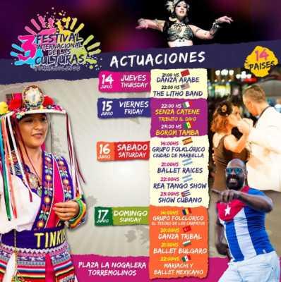 Actuaciones en el Festival de las Culturas Torremolinos 2018