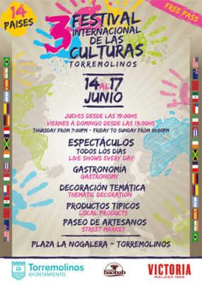 Cartel del Festival de las Culturas Torremolinos 2018