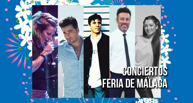Conciertos Feria de Málaga 2017 en el Auditorio