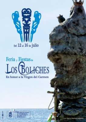 Cartel de la Feria y Fiestas de Los Boliches 2018