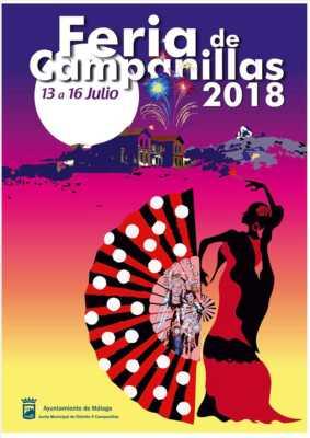 Cartel de la Feria de Campanillas 2018