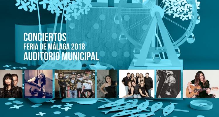 Conciertos de la Feria de Málaga 2018 en el Auditorio