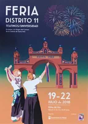 Cartel de la Feria de Teatinos 2018