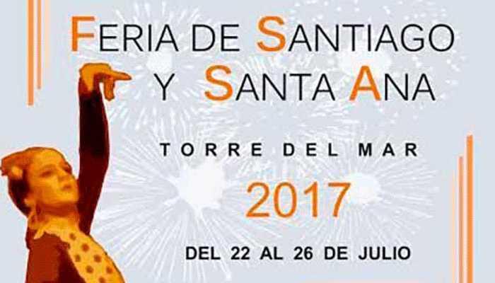 Feria Torre del Mar 2017. Santiago y Santa Ana