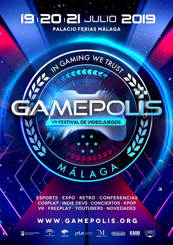 Gamepolis 2019. Festival de Videojuegos de Málaga