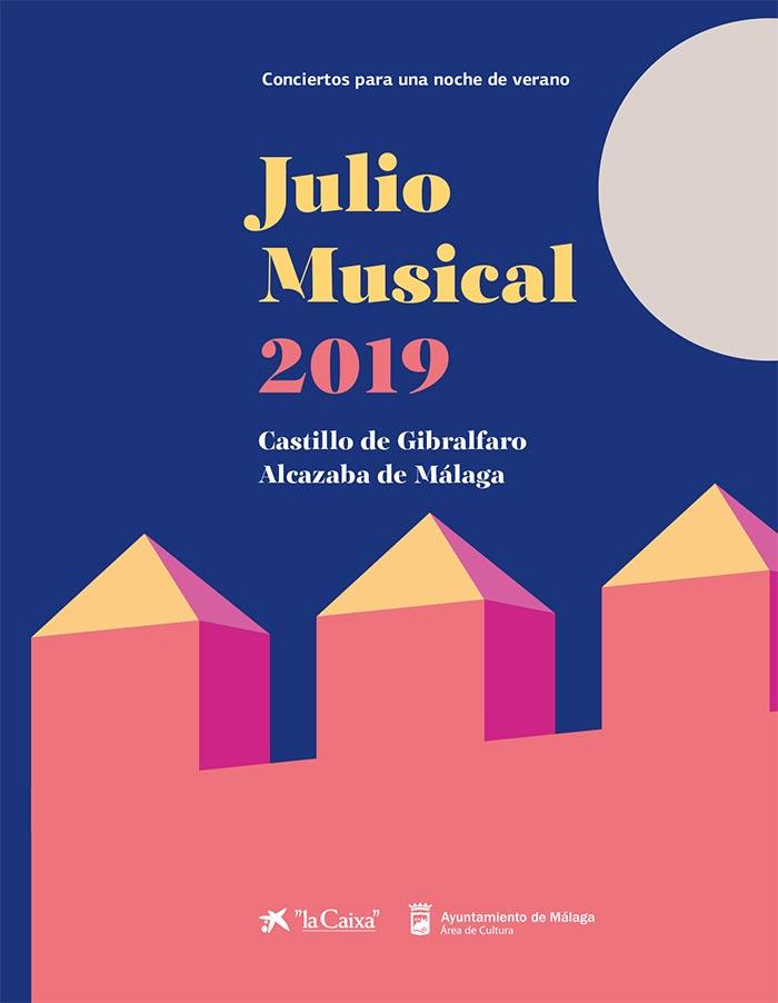 Julio Musical 2019. Conciertos para una noche de verano en la Alcazaba y el Gibralfaro