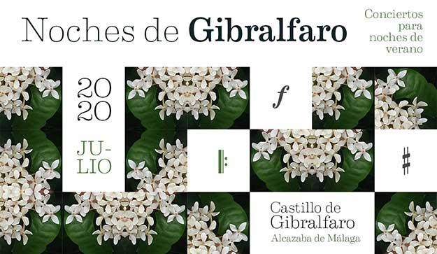 Noches de Gibralfaro 2020. Conciertos para noches de verano