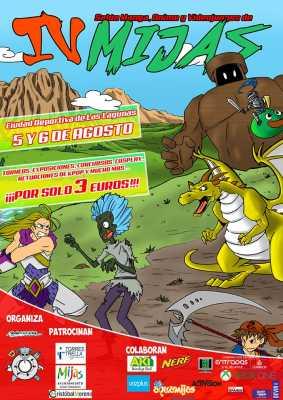 Cartel del Salón del Manga, Anime y Videojuegos de Mijas 2017