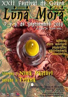 cartel de la Luna Mora de Guaro 2018