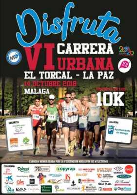 Cartel de la Carrera Urbana El Torcal La Paz 2018